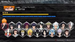 Bleach: Soul Resurreccion Opening and All Characters [PS3]