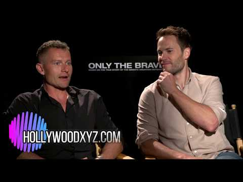 Taylor Kitsch & James Badge Dale Only the Brave Interview