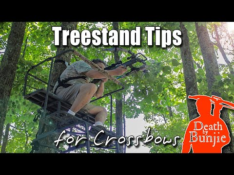 Tips on Getting Your CROSSBOW In & Out of a TREESTAND!