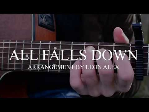 Alan Walker All Falls Down Fingerstyle Guitar Cover Youtube
