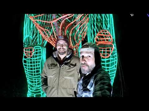 Fishing Under Woke Christmas Lights