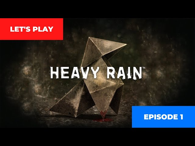 Heavy Rain - PC gameplay (no commentary) | Episode 1