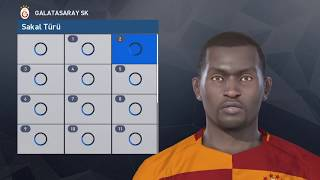 Pes 2017 Face Build | Badou N'diaye [Galatasaray] PS4