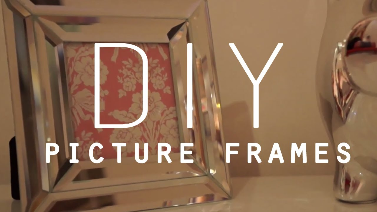 DIY Room Decorations Picture frames YouTube