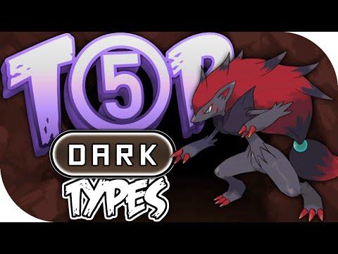 Top 5 Dark Type Pokemon w/ Speqtor