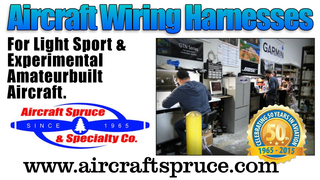 maxresdefault aircraft spruce aircraft wiring harnesses, deland sport aviation avionics wiring harness at edmiracle.co