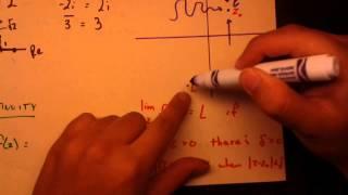 Complex Analysis - Limits