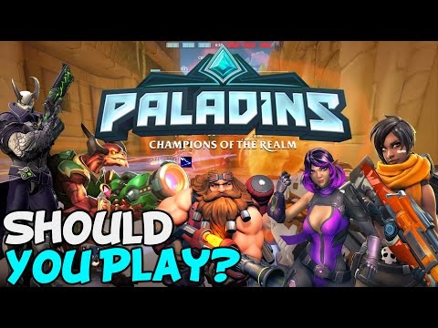 Paladins: The Free To Play Overwatch?