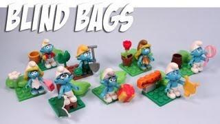 The Smurfs Mega Bloks Minifigures Review Codes