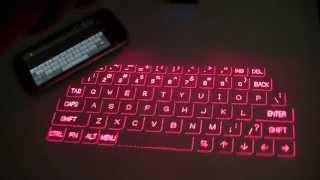 Magic Cube Laser Projection Holographic Keyboard Review: