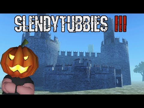 THE FORTRESS | NEW MODERATOR ONLY MAP - DEFEND THE CASTLE! - SLENDYTUBBIES 3 - PISTOLS ONLY SURVIVAL