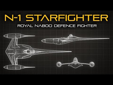 Star Wars: N-1 Naboo Starfighter - Ship Breakdown
