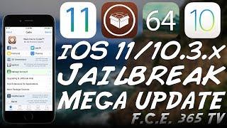 iOS 11/iOS 10.3.x JAILBREAK UPDATE | Compatible Tweaks, Meridian Update, G0blin, and More
