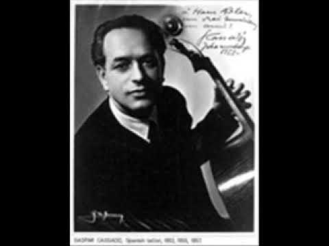 Gaspar Cassadó: Cello Concerto in D minor