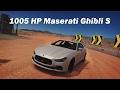 Extreme Power, No Handling (Autocross) - 2014 Maserati Ghibli S Q4 (Forza Horizon 3)