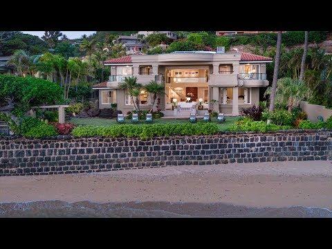 Diamond Head Luxury Beachfront Estate   3215 Diamond Head Road, Honolulu, Hawaii 96816