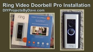 Ring Video Doorbell Pro Installation