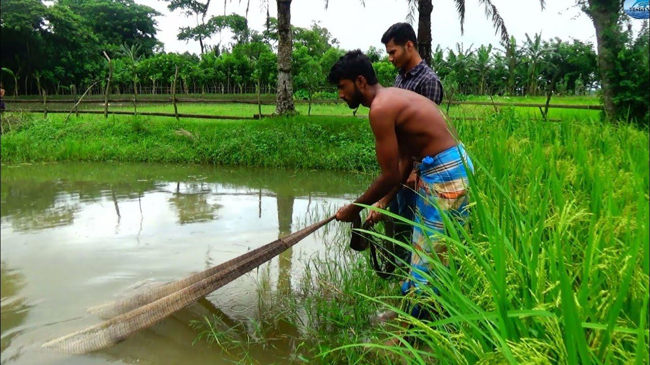 Best Cast Net Fishing - Traditional Cast Net Fishing With Beautiful Natural @Amazon Fishing