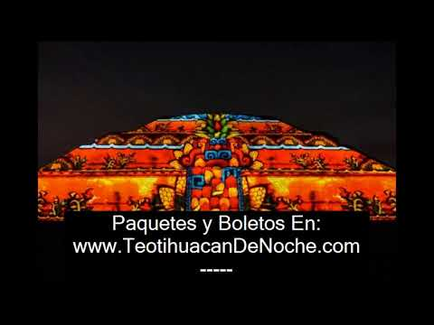 Espectaculo De Luces Teotihuacan 2018 Of Luz Y Sonido En Teotihuacan 2018 Youtube