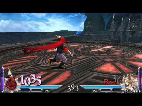 Dissidia012 - Gilgamesh's Rocket Punch
