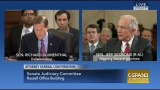 Jeff Sessions on his immigration, 1/10/17 Free HD Video