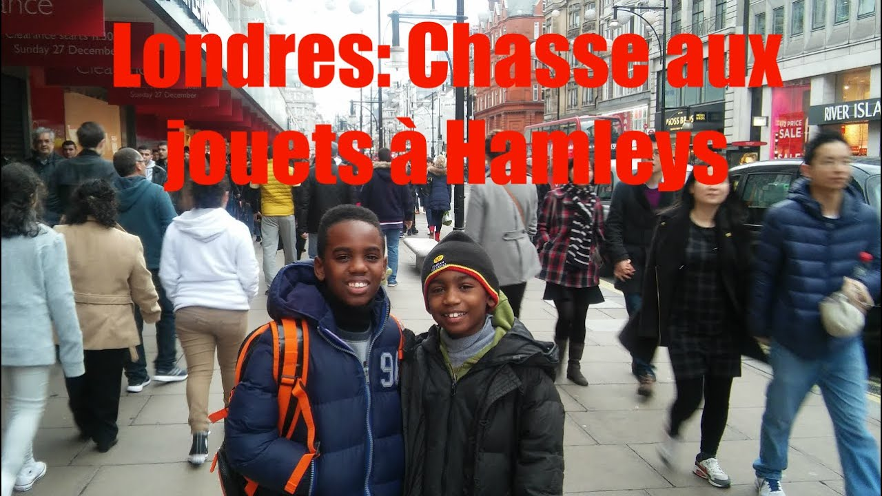 Vlog chasse aux jouets londres au magasin hamleys toy hunt k boyz tv - Grand magasin de jouet londres ...