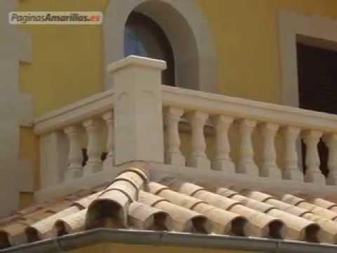 Balaustres y derivados de baleares youtube - Balaustres de piedra ...