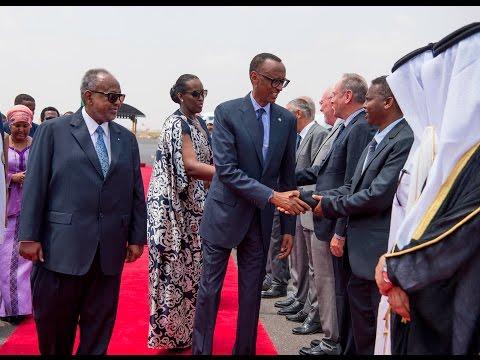 PRESIDENT KAGAME STATE VISIT TO DJIBOUTI