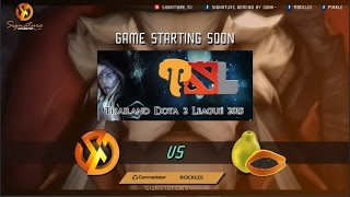 Signature.Trust Vs Ideal.Gigabyte Bo1/Papaya Bo2 - Thailand Dota 2 League - Caster : RoCkLEE-