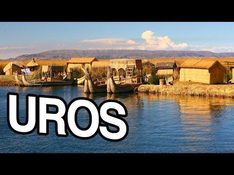 PERU: FLOATING ISLANDS, SWIMMING IN LAKE TITICACA, PUNO