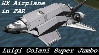 ksp luigi colani super jumbo concept plane b9 aerospace firespitter tweak scale