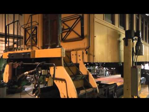 Huckleberry Railroad Shop Projects Update 2015