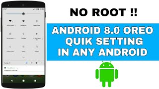 Android 8.0 Oreo Statusbar For All Android || No Root || No Recovery