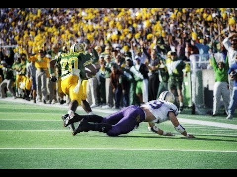 1994  #9 Washington (5-1) vs. Oregon (4-3) 2nd half