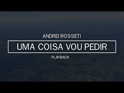 Uma coisa vou pedir // A melhor parte (Playback) [Cover] Andrei Rosseti