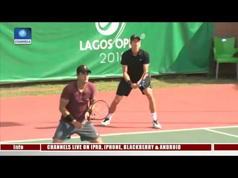 Lagos Open: Jomby, Yadlapalli Advance Into 2nd Round Pt.3 |S