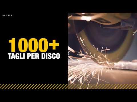 DEWALT EXTREME METAL DISCO DA TAGLIO DIAMANTATO PER METALLO 1000+ TAGLI