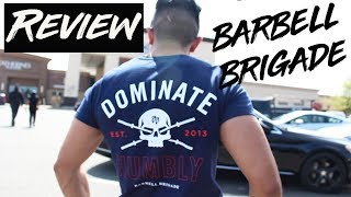 BARBELL BRIGADE Defiant Collection shirt review   DEADLIFT DAY