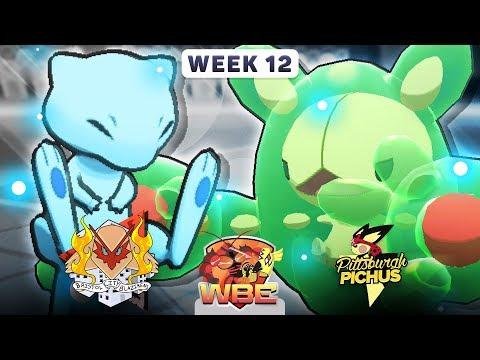 Pokemon Sun & Moon WiFi Battle • Bristol City Blazikens vs Pittsburgh Pichus • WBE W12S1