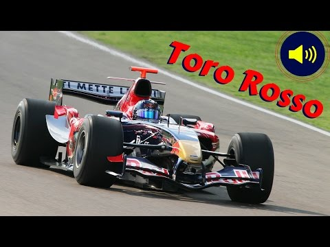 2006 Toro Rosso STR1 F1 - Actions, Fly-Bys & V10 Cosworth Engine Sound At The Imola Circuit!