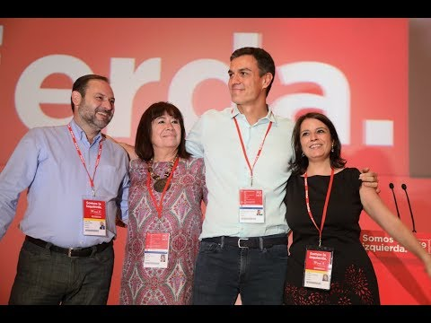 Inauguración del 39º Congreso Federal del PSOE
