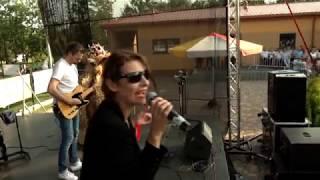 Dożynki 2019 - występ zespołu Dystans