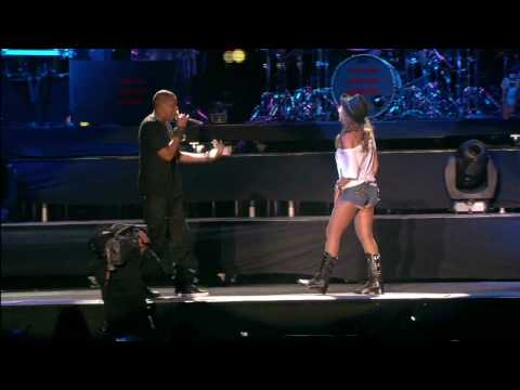 Jay-Z and Beyonce - Young forever Live HD/HQ