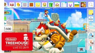 Download Super Mario Maker 2 Gameplay Pt. 2 - Nintendo Treehouse: Live | E3 2019 Mp3 and Videos
