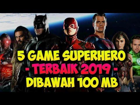 Top 5 Game Superhero Android Terbaik 2019 - Online / Offline Marvel DC Comic Games Best Graphics HD - 동영상