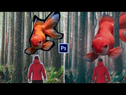 Fantasy Golden Fish Photo-manipulation   Photoshop Tutorial thumbnail
