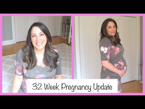 32 Week Update | ERA Testimonial | Non Stress Test | Be The Match | Stem Cells