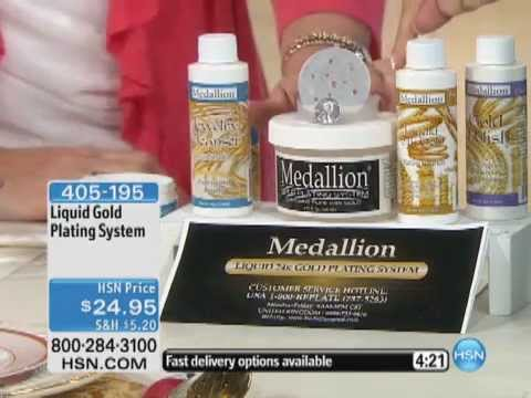 Liquid Gold Plating System YouTube