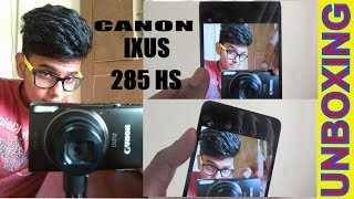 Canon IXUS 285 HS - 20.2 MP , 12X Optical zoom.Unboxing And Small Review (FULL REVIEW IN NEXT VIDEO)