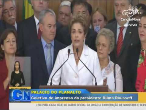 Pronunciamento - Dilma Rousseff - 12-05-2016
